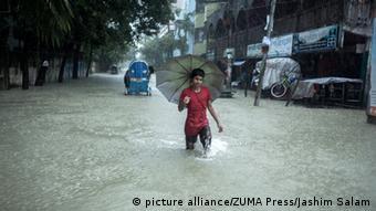 Überschwemmungen in Bangladesch