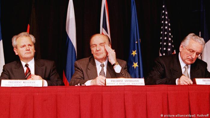 Milošević, Izetbegović, Tuđman