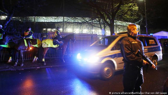 Anschläge im Stadion und am Bahnhof geplant