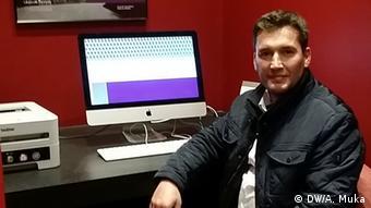 Albanien Fabian Zhilla (DW/A. Muka)
