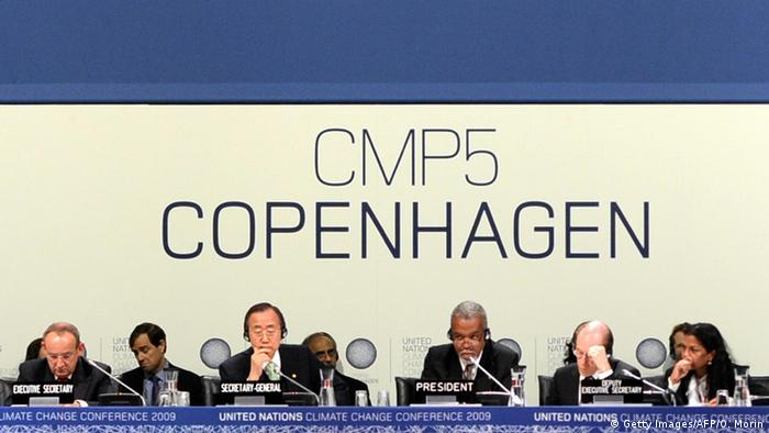 UN-Klimakonferenz in Kopenhagen (Getty Images/AFP/O. Morin)