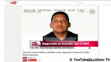Ivan Casarin Molina Führer Kartell Jalisco Mexiko Screenshot YouTube