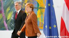 Angela Merkel und Werner Faymann