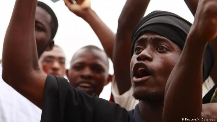 Prozess gegen Aktivisten in Angola Proteste