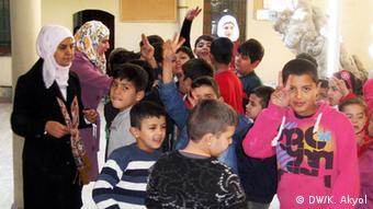 مدرسه دانشآموزان سوری در استانبول