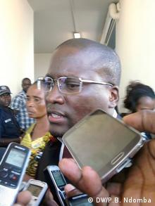 Angola Medien Prozess Aktivisten in Luanda - Anwalt Walter Tondela
