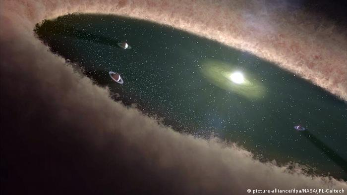USA researchers observe the formation of protoplanet LkCa 15b