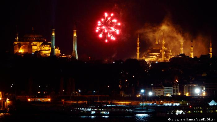 Silvester in Europa Istanbul
