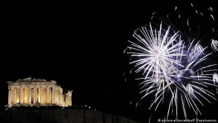 Silvester in Europa Athen