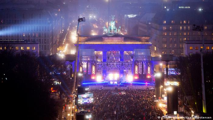 New Year's Eve celebrations in Berlin
