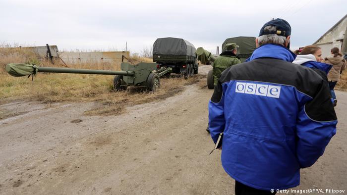 Ukraine Russland Krise OSCE Beobachter
