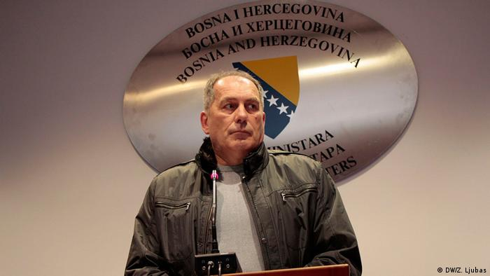 Bosnien und Herzegowina Sicherheitsminister Dragan Mektić (DW/Z. Ljubas)