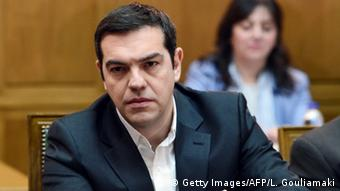 Symbolbild - Premierminister Tsipras (Getty Images/AFP/L. Gouliamaki)