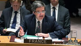 UN - Francois Delattre (picture-alliance/dpa)