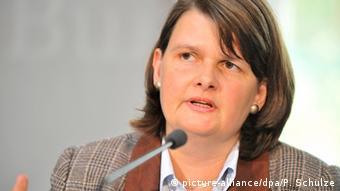 Deutschland Bundestagsabgeordnete Maria Flachsbarth in Gorleben