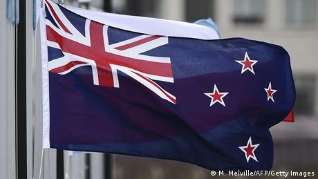 Neuseeland Flagge (M. Melville/AFP/Getty Images)