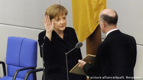 Angela Merkel in 2005