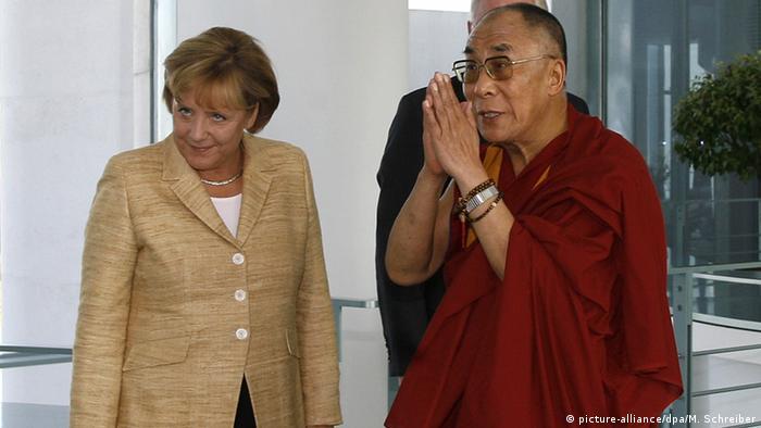 Меркель та Далай-лама