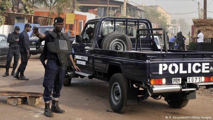 Police in Bamako