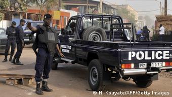 Mali Polizei in Bamako