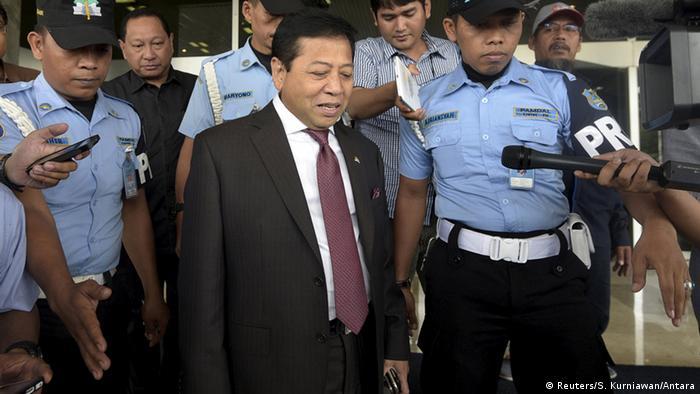 Indonesien Parlamentspräsident Setya Novanto