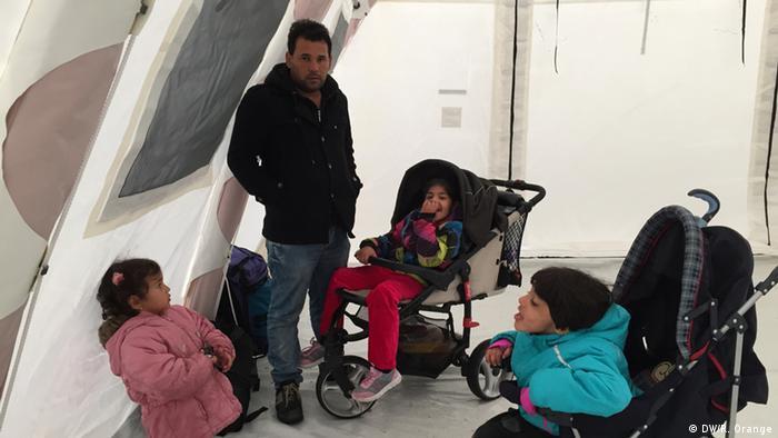 Беженцы в шведском городе Мальмё