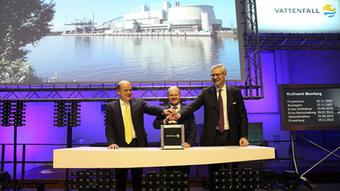 20.11.2015 Coal-fired power plant at Moorburg: The official launch