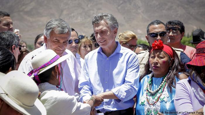 Argentinien Präsidentschaftswahl Mauricio Macri