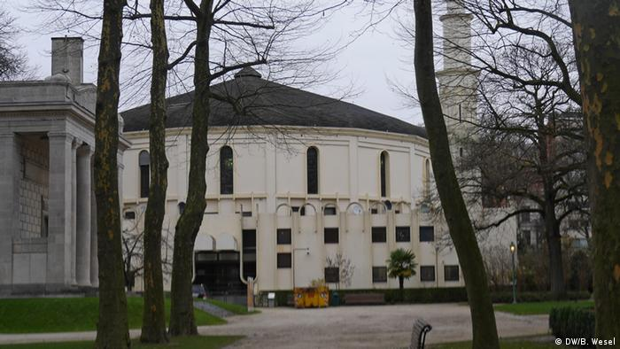 The Great Mosque in the Cinquantenaire park in Brussels