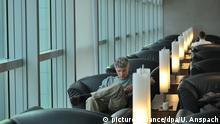 Senator-Lounge der Lufthansa