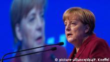 Bundeskanzlerin Angela Merkel auf dem CSU-Parteitag