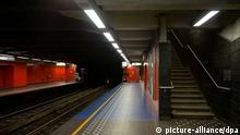 Brüsseler Metro geschlossen