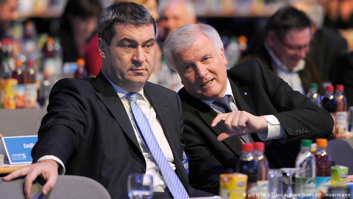 Bavaria Csu Denies Report Markus Soder To Replace Horst Seehofer As State Premier News Dw 23 11 2017