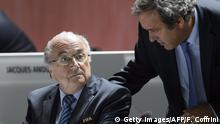 Joseph Blatter und Michel Platini