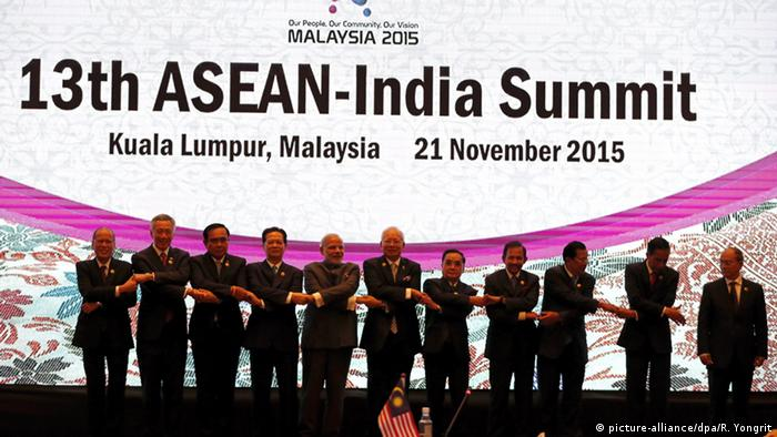 Malaysia ASEAN Gipfel (picture-alliance/dpa/R. Yongrit)