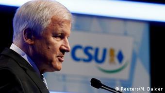 München CSU Parteitag Horst Seehofer Wiederwahl als Parteivorsitzender