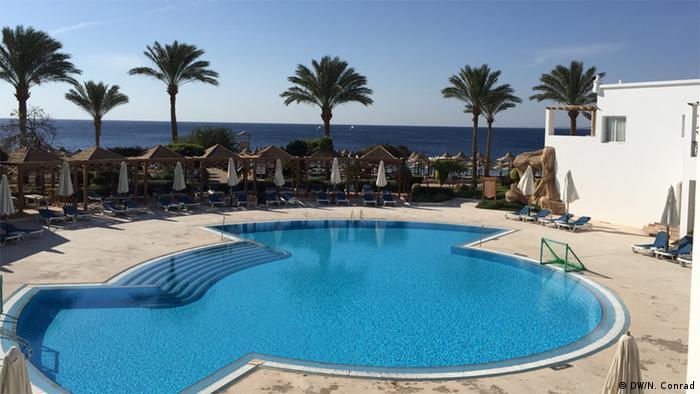 Scharm el Sheikh Pool eines Hotels