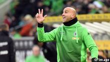 El jóven entrenador del Gladbach Andre Schubert aún no conoce la derrota en su carrera en la Bundesliga.