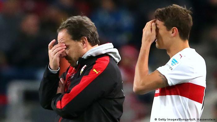 Fußball Bundesliga 13. Spieltag VfB Stuttgart gegen FC Augsburg