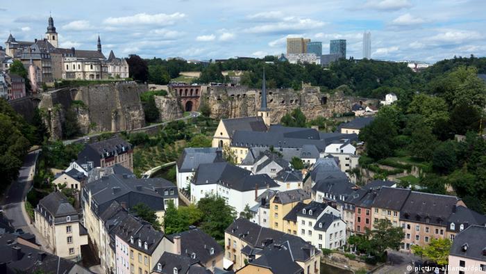 Panorama de Luxemburgo.