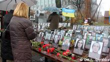 Ukraine - Mahnmal in Kiew