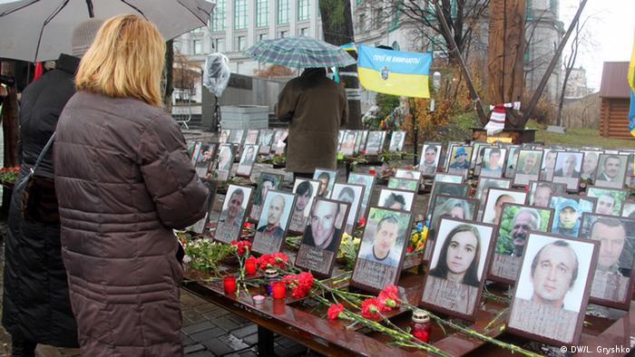Memorials for victims of the Kyiv Maidan protets
