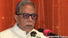 Bangladesch - Präsident Abdul Hamid