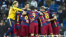 Fußball - Real Madrid CF - FC Barcelona - Clasico