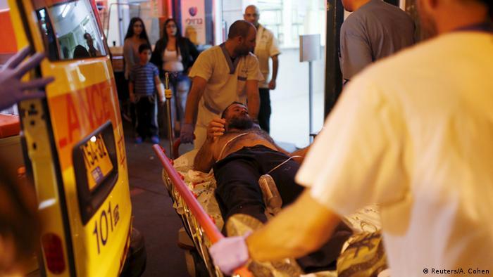 Israel - Verletzter nach Messerstecherei