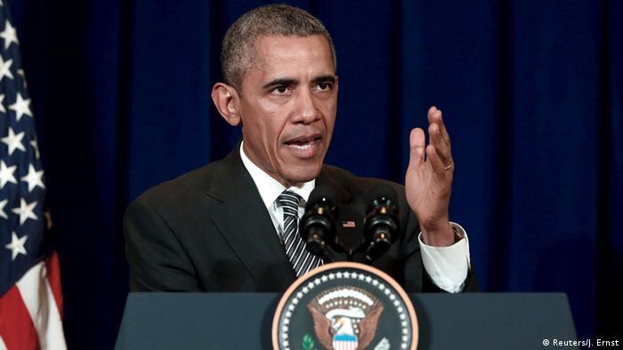 """أوباما يدعو روسيا لتركيز حربها على تنظيم""""الدولة الإسلامية"""""""