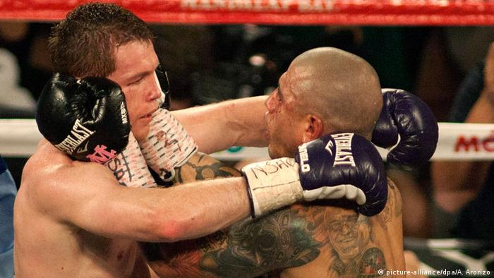 USA Boxkampf Saul Alvarez vs. Miguel Cotto