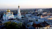 Bildnummer: 58191256 Datum: 04.07.2012 Copyright: imago/ITAR-TASS ITAR-TASS: ROSTOV-ON-DON, RUSSIA. APRIL 24, 2012. A view of Russian Orthodox Cathedral of the Nativity of Virgin Mary. PUBLICATIONxINxGERxAUTxONLY Reisen Rostow am Don xbs x2x 2012 quer o0 Totale, Landschaft; Stadtlandschaft; gebäude, Kirche