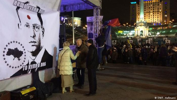 Kiev: doi ani de la protestele de pe Maidan