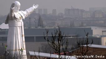 Statue of John Paul II in Czestochowa, Poland (Photo: dpa)